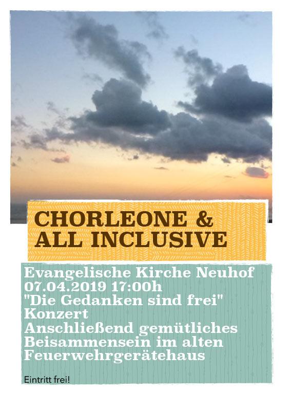Chorleone - Pop Songs, Rock Songs, Gospel, Jazz und a capella
